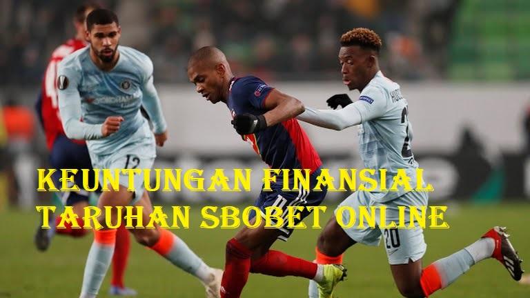 Keuntungan Finansial Taruhan SBOBET Online